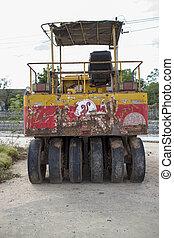 Steamroller old
