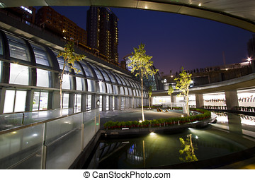 Taipei MRT station (Daan Park Station) - the new MRT station...