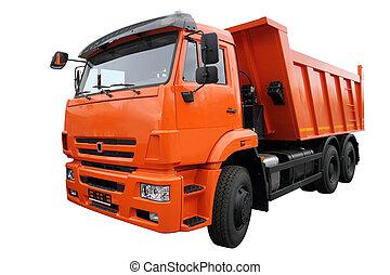 naranja, Camión