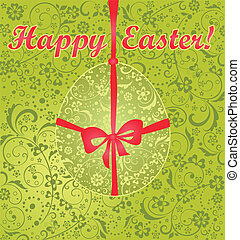 Easter green card