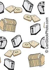 Seamless Toast Pattern