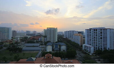 Planned Public Housing Development in Eunos District in...
