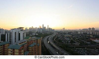 Kuala Lumpur Traffic Time Lapse - Ampang Kuala Lumpur...