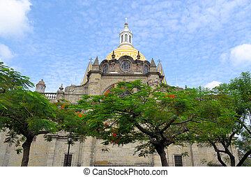 Guadalajara cathedral, Jalisco (Mexico)