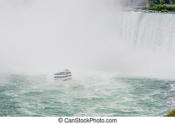 Niagara Falls with maid of the mist - Maid of the mist...