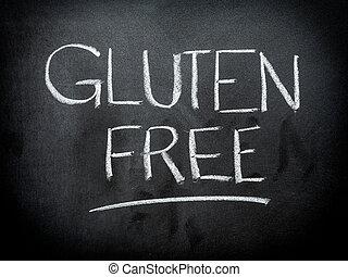 Gluten, livre, conceito