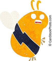 funny cartoon bee