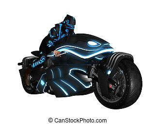 3D future rider - image of future rider