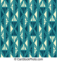 ancient blue seamless pattern