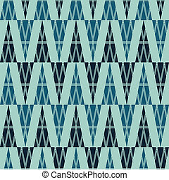 ancient triangle seamless pattern