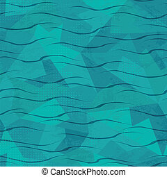 water seamless pattern