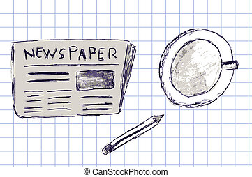 newspapers - vector newspapers