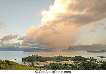 vanua, Insel,  savusavu,  Levu,  nawi, Inselchen,  Marina, Fidschi