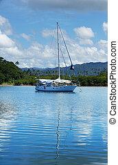 porto,  vanua, Insel,  savusavu, Segelboot,  Levu, Fidschi
