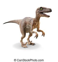 3D, Velociraptor
