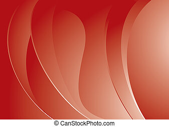 red mellow swell - Modern red abstract background with...