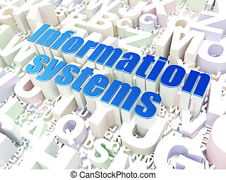 Information concept: Information Systems on alphabet...