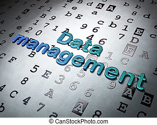Information concept: Data Management on Hexadecimal Code...