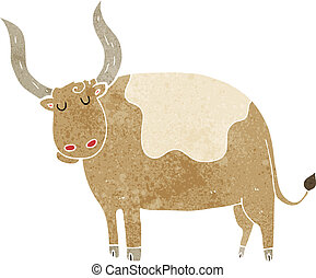 cartoon ox