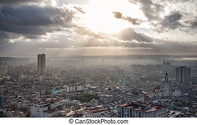 Havana, Cuba, sea view - Beautiful coast of Cuban capital...