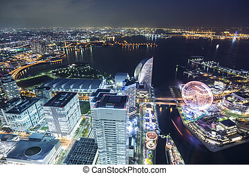 Yokohama top viewpoint landmark