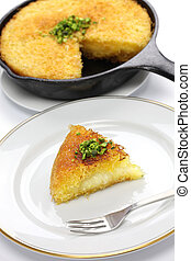 kanafeh, arabic sweet - kanafeh is a classic Middle Eastern...