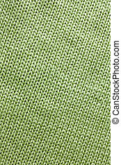 Sage Green Woven Fabric Background