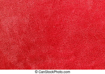Soft Red Micro Fleece Blanket Background - a pinkish red...