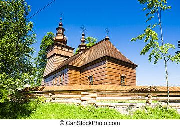 wooden church, Fricka, Slovakia