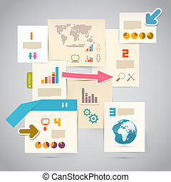 Infographics Paper Template - Layout