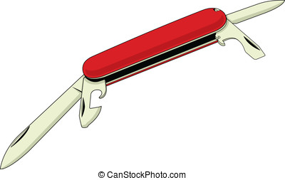 Pocket Knife 3 - This is my third vector graphic of a pocket...