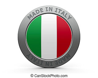 Made in Italy - Emblem - made in Italy, three-dimensional...