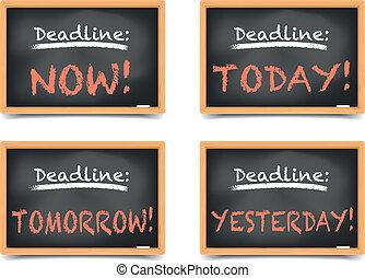Blackboard Deadlines