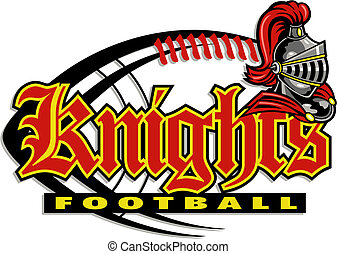 knights football design