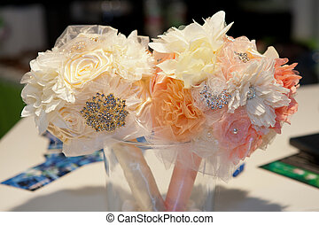 Two wedding bouquets