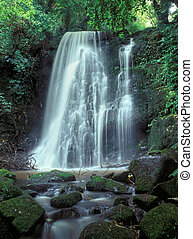 Matai Falls in Catlins South Otago South Island New Zealand