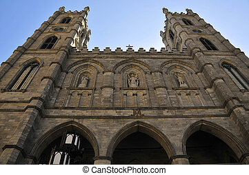 Notre Dame Cathedral in Montreal