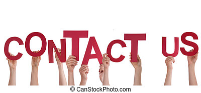 Hands Holding Contact Us