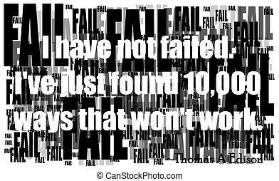 edison quote on failure