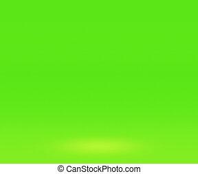 Green Spotlight Wall