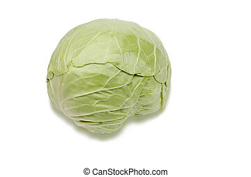 Green and healthy cabbage