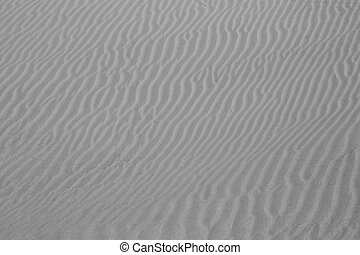 Grey Sands Texture - Grey sand background with a wave...