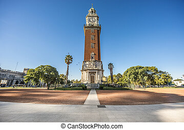 Monumental Tower in Buenos Aires, Argentina - Monumental...