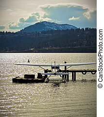 Floatplane at Dock