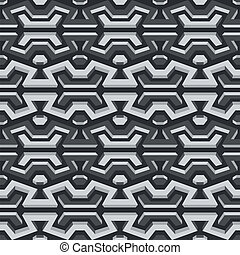 metallic seamless pattern