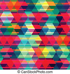 red rhombus seamless pattern