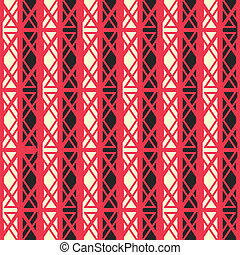 red ancient seamless pattern