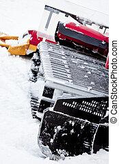 Ski Hill Snow Cat Treads
