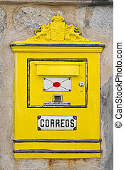 spansk, brevlåda