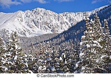 Scenic Colorado Mountains - Scenic Colorado Winter Mountains...